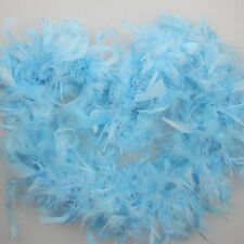 2M Feather Boa Strip Fluffy Craft Costume Fancy Dress Wedding Party Decoration