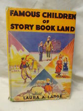 Famous Children Story Book Land Alice in Wonderland Original Photocopy Frontis
