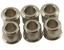 "KLUSON ADAPTER BUSHINGS SET 6 CONVERT 10mm TO 1/4"" TUNER HOLES GIBSON EPIPHONE"