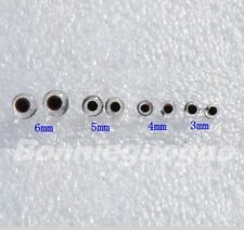 100 Pair Glass Eyes kits 3/4/5/6mm For Needle Felting Bears Dolls Decoys Sewing