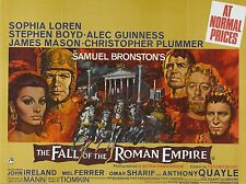 "Fall of the Roman Empire 16"" x 12"" Reproduction Movie Poster Photograph"