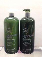 Paul Mitchell Tea Tree Lavender Mint Moisturizing Shampoo/Conditioner 33 oz Duo!