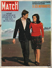 paris match n°974   mariage d'amour de michel de france