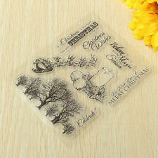 SiliconeTampons transparents scrapbooking carterie clear stamps DIY Derco