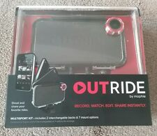 Brand NEW! Mophie Outride Multisport kit Camera, iPhone 4S/4, Black