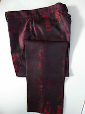 VINTAGE * JEAN PAUL GAULTIER HOMME * SILK BLEND PANTS * ITALY SIZE 52 / US 36