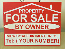 FOR SALE / TO LET sign boards X 2   Personalised