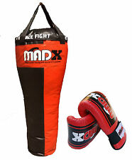 MADX Pro 4ft Uppercut punch bag, gloves, mitts, boxing, martial arts, MMA