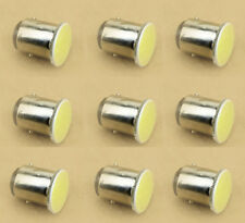 10Pcs Car 1157 BAY15D S25 1-COB LED Reverse Backup Brake Stop light Lamp Bulb