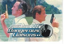 James Bond Dangerous & Liaisons Trading Card Set (110 Cards)