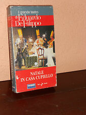 NATALE IN CASA CUPIELLO - VHS ORIGINALE-FILM-CINEMA CULT-MOVIE-TEATRO