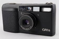 Exc+++ Ricoh GR1s  Black Point & Shoot Film Camera GR 1S w/Case F/S Japan #N228