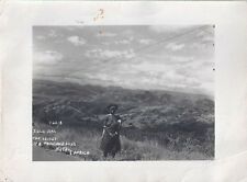 1930s? PHOTO TOPLESS ZULU WOMAN 1000 HILLS VALLEY NATAL SOUTH AFRICA