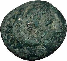 Alexander III the Great as Hercules 336BC Ancient Greek Coin Bow Club i51649