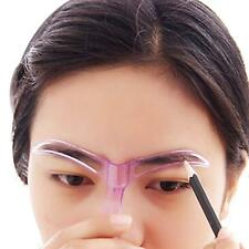 2Pcs Eyebrow Model Grooming Stencil Kit Makeup Eye Brow Template Shaper Tool