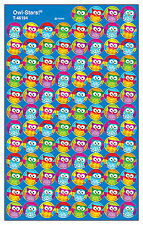 800 Owl Stars School Teacher Reward Stickers - Ideal For Incentive Charts
