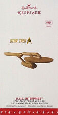 Star Trek 2016 Gold Pilot Version USS ENTERPRISE NCC-1701 Ornament ~ Hallmark
