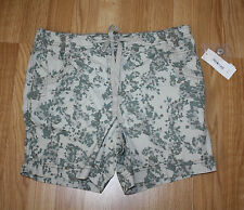 NWT Womens Style & Co Tan Green Camo Summer Spring Shorts Size 12P