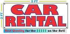 CAR RENTAL Banner Sign NEW 4 Car Truck SUV Van Auto Repair Tire Shop