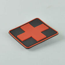 Medic Red Cross Morale SWAT PVC 3D Rubber Badge Military Tactical Velcro Patch