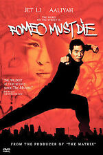 ROMEO MUST DIE - JET LI - DVD - FREE SHIPPING