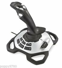 New Logitech Extreme 3D Pro USB Joystick 963290-0403 for PC / Mac Silver / Black