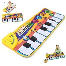 Touch Play Toy Learn Singing Piano Keyboard Music Dance Games Carpet Mat Blanket