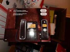 Motorola DECT 6.0 Enhanced Corded Base Phone with Cordless Handset and Digital A
