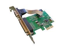 Carte Contrôleur SERIE COM RS232 et PARALLELE LPT Sur Port PCIE