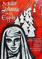 MOTHER JOAN OF THE ANGELS 1961 Jerzy Kawalerowicz LOUDON GERMAN POSTER