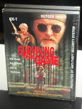 Surviving the Game (DVD) Rutger Hauer, Ice-T, Gary Busey, Charles S. Dutton, NEW