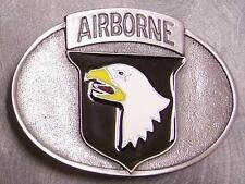 Military Belt Buckle metal 101rst Airborne Division NEW