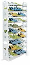 Shoe Rack Holds 50 Pairs 1.56m Tall Basement Closet Space Saver Unit Storage