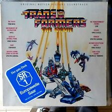 VARIOUS ARTISTS LP THE TRANSFORMERS ORIGINAL SOUNDTRACK 1986 GERMANY VG++/VG++