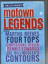TIME LIFE MOTOWN LEGENDS~05 VG/C DVD~15 SONGS W/ MARTHA REEVES & FOUR TOPS+ MORE