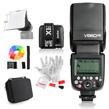 Godox Camera Flash V860IIS +TTL Trigger X1T-S +Bag +Free kit for Sony DSLR