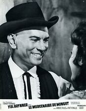 YUL BRYNNER  INVITATION TO A GUNFIGHTER 1964 VINTAGE LOBBY CARD #3