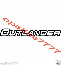 STICKER AUTOCOLLANT OUTLANDER  CAN-AM CAN AM  10 CM