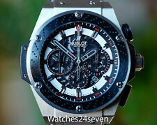 Hublot King Power F1 Suzuka Zirconium Chronograph LTD of 250 Retail $30,500