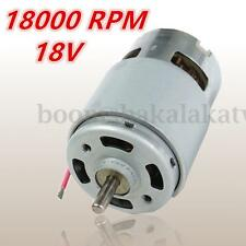 High Speed Motor RS-775W 18000 rpm for Drill/Screwdriver/Garden Tool/Toy Motor