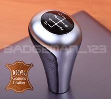 BMW MANUAL 5 SPEED GENUINE LEATHER GEAR KNOB SHIFT E36 E34 E46 E39 E32 E30 Z3