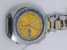 Seiko 1970's Mechanical Chronograph Watch for spares only (VAD25)
