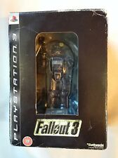 Fallout 3 Limited Collectors Edition + Figura Estatuilla Playstation 3 Ps3 Juego