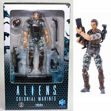 [USED] Dwayne Hicks Aliens Colonial Marines Action Figure Hiya Toys F/S