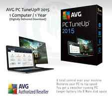 AVG PC TuneUp® 2015  | 1 Computer / 1 Year License | License Key Only | Download