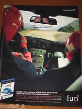 *AP53= PLAY STATION 2 WRC =PUBBLICITA'=ADVERTISING=WERBUNG=COUPURE=