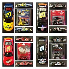 Dale Earnhardt Sr 3 Wrangler Taz Oreo No Bull 76th Win 1/64 Action Car LOT MIX 1