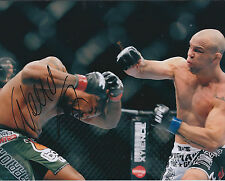 Wanderlei SILVA Signed 10x8 Autograph Photo AFTAL COA Cage Fighter Jiu Jitsu