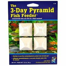 API 3 DAY PYRAMID FISH TANK FEEDER FOOD HOLIDAY WEEKEND VACATION FOOD BLOCK