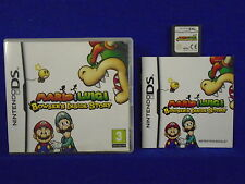 ds MARIO & LUIGI Bowser's Inside Story Rescue Peach Once Again! PAL UK Version